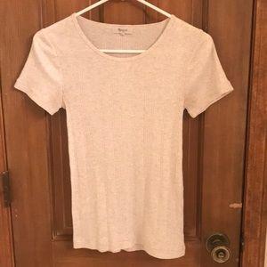 Madewell Ribbed T-Shirt